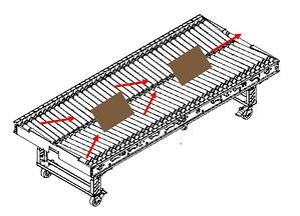 Carter Control System (CCS) Mobile Conveyor Herringbone Section